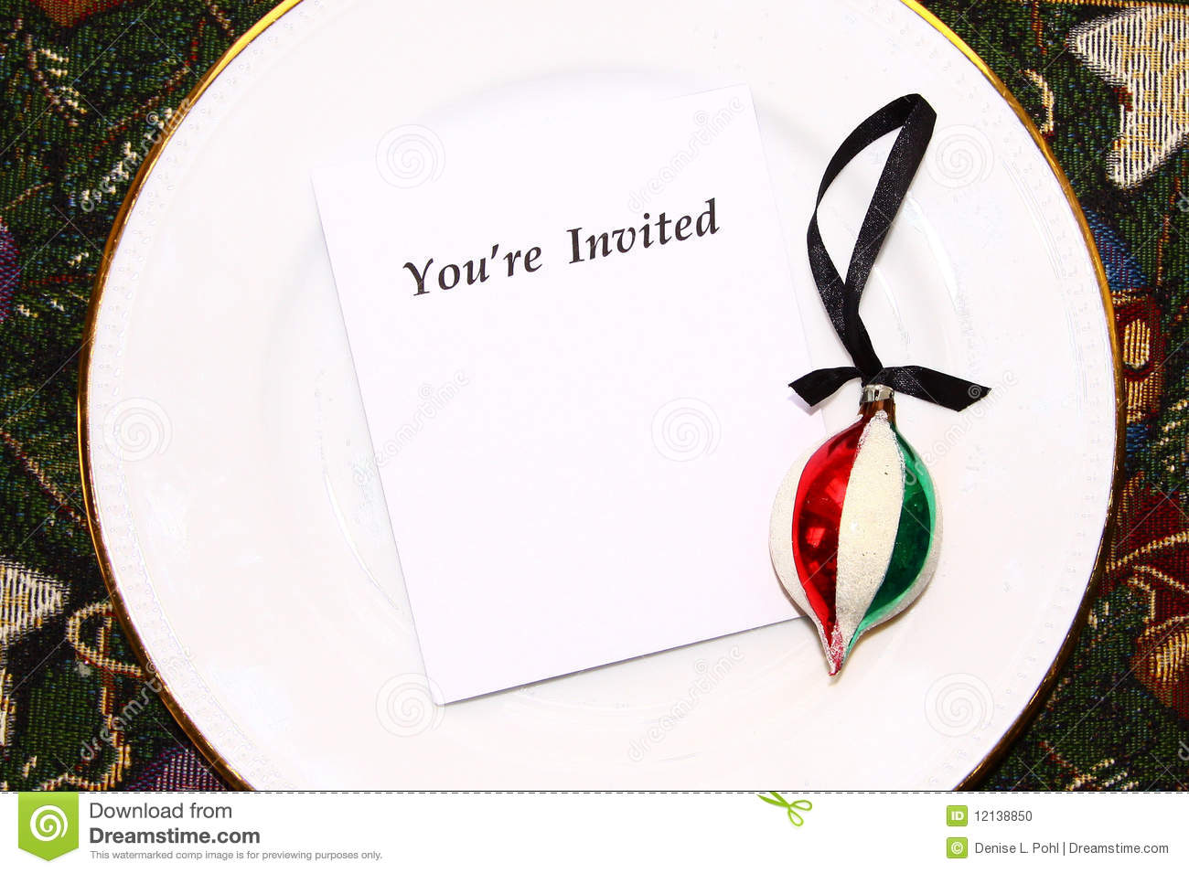 You Re Invited Stock Photo Image Of Event Holiday Elegant