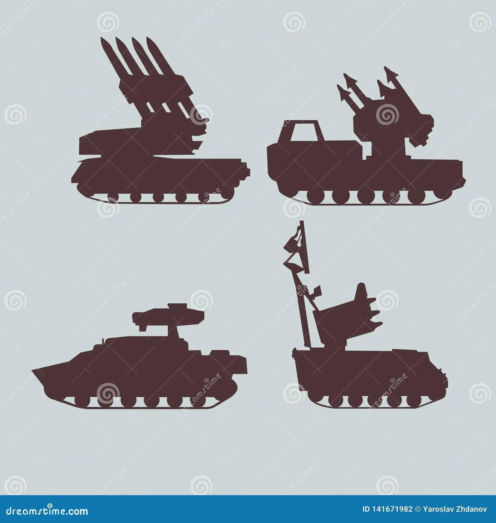 Construction Truck Icon Set Cartoon Vector