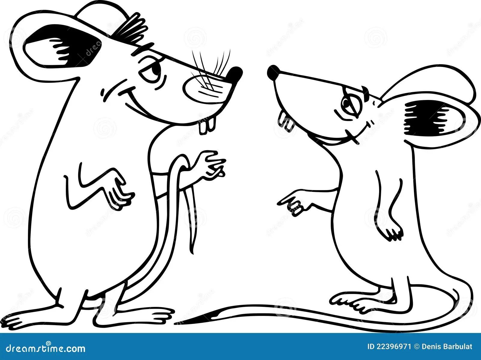 Zwei Mause