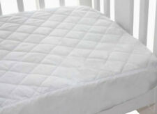 Bubba Blue Quilted Ed Waterproof Cot Mattress Protector Standard