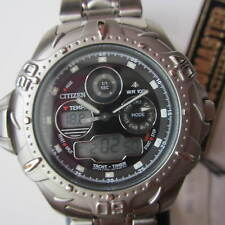 CITIZEN PROMASTER YACHT TIMER MENS WATCH CHRONO ALL SS