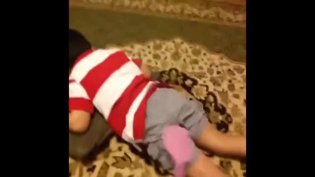 Kid Slapped By Fly Swatter Remix Gif Gfycat