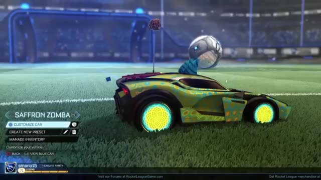 Discotheque Rocket League Painted Purple