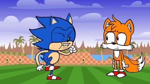 Sonic Gotta Go Fast GIF Find Make Amp Share Gfycat GIFs