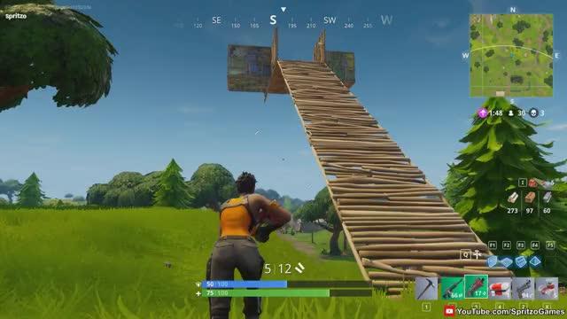 Fortnite Battle Royale Building Collapse Find Make