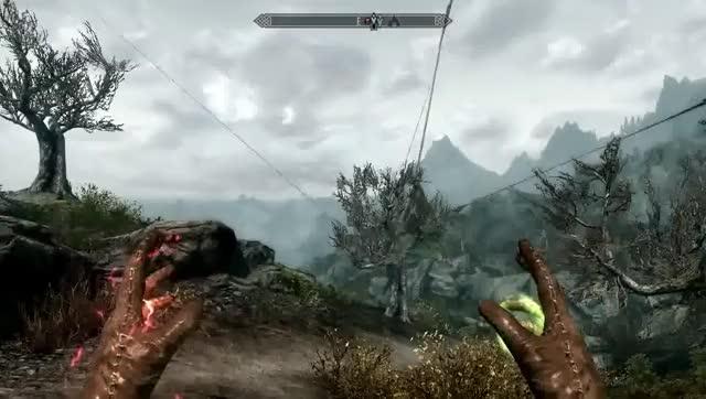 Craziest Glitch Ive Encountered In Skyrim RIP Forsworn