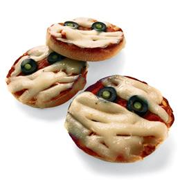Halloween-Pizza Mummy