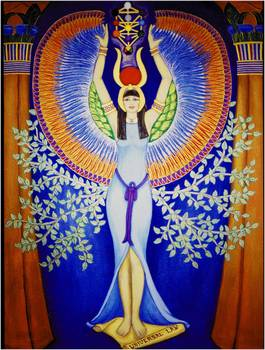 Isis Aset Egyptian Divine Goddess By DiVeena Marcus