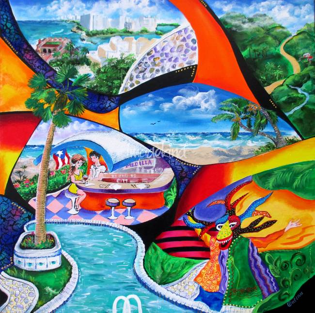 Puerto Rico Coqui Clip Art