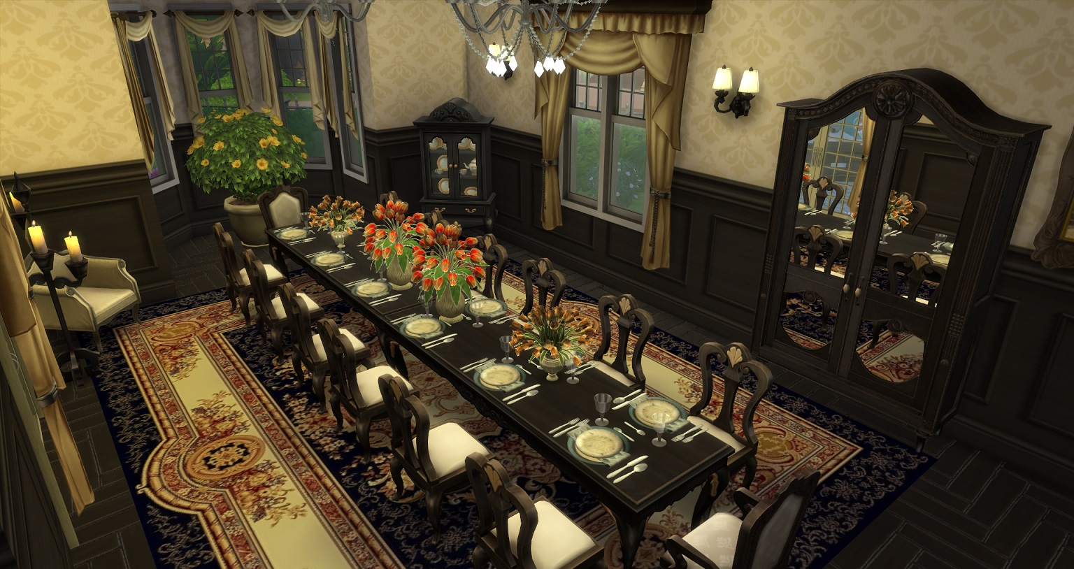Mod The Sims Luxury Mansion BaseCC 7Bd5Ba