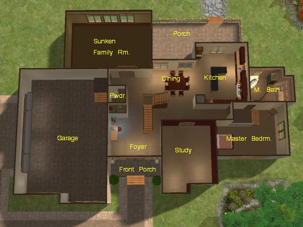 2 D Built Floor Plans