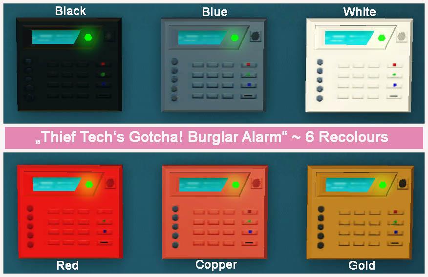 Security Alarm Sims 4