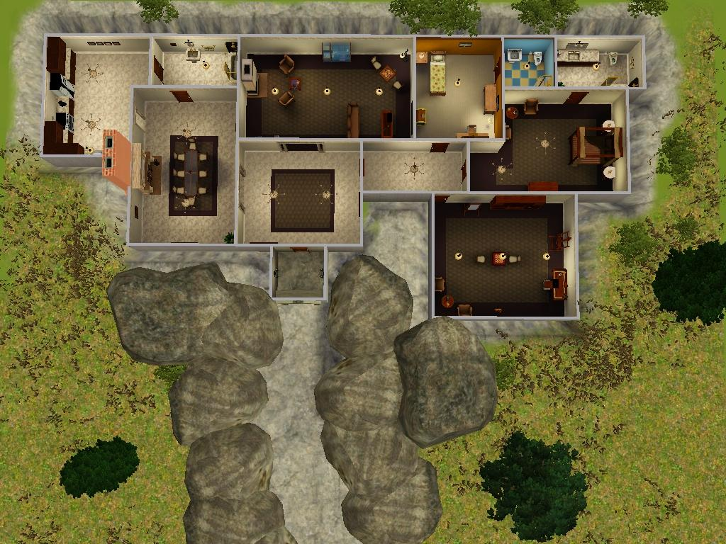 Best Kitchen Gallery: Mod The Sims Underground Luxury Cave Home of Underground Shelter Homes on rachelxblog.com