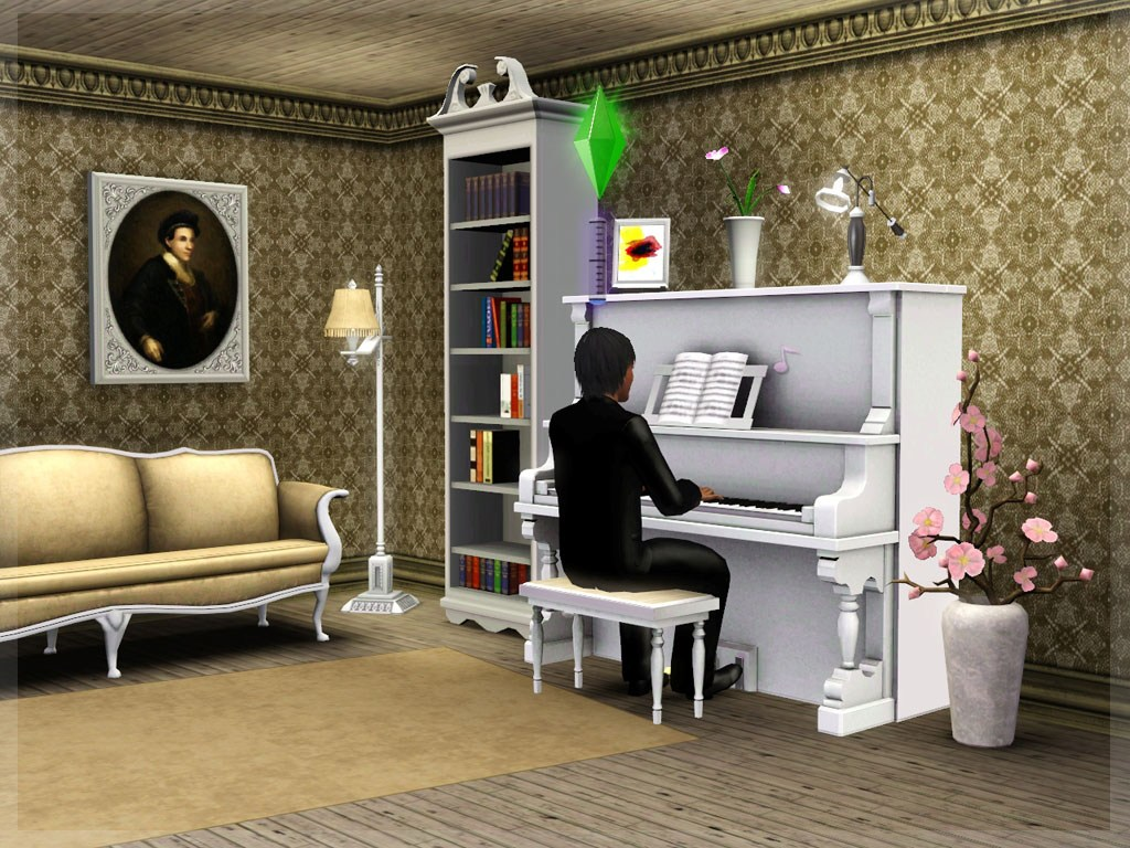 Mod The Sims Traditional Piano