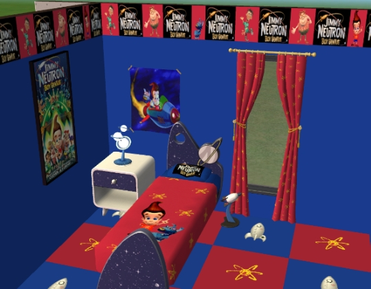 Mod The Sims Jimmy Neutrons Room