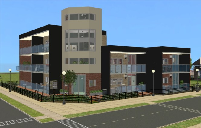 There Are Six Apartments All With A Single Double Bedroom Except One Most Of The Have Open Plan Living Rooms And Two
