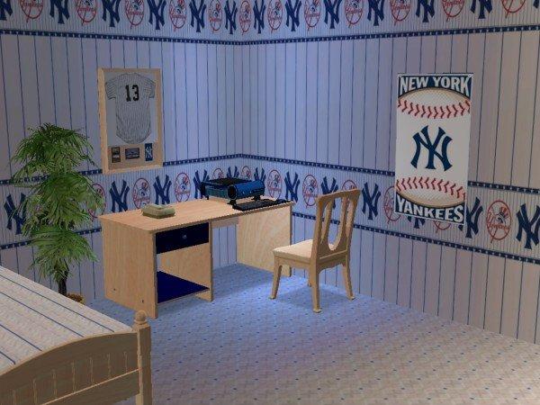 New York Yankees Bedroom Decor