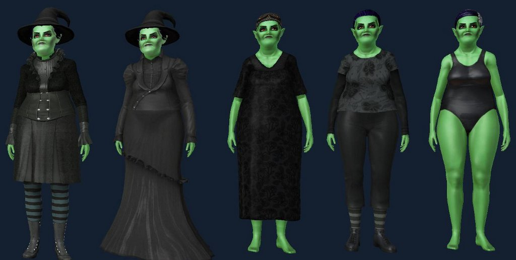 Mod The Sims - Gloomhilda Batrice (One Extremley