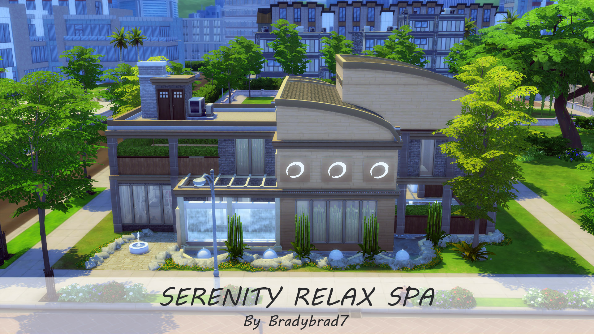 Mod The Sims Serenity Relax Spa No Cc
