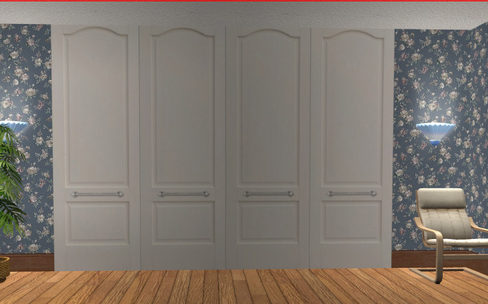 Mod The Sims Wardrobe Closet Doors Deco Only