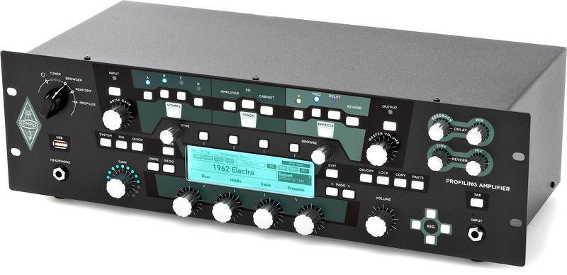 kemper profiling amplifier rack schwarz