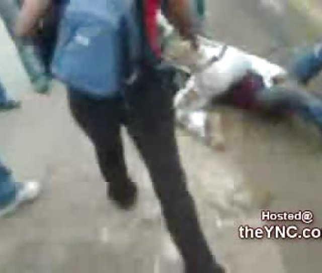 Latina Girls Get Down And Dirty In The Mud During A Street Fight