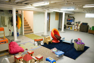 the estate of things chooses portland bungalow basement