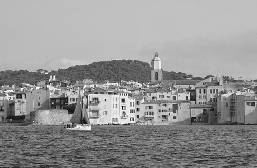 Rustige dag in Saint-Tropez