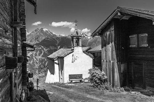 Holzkapelle in Unterbäch