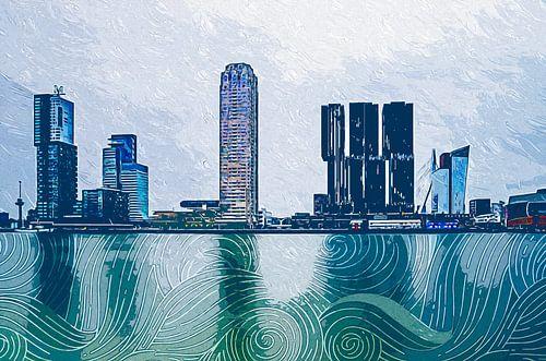 Rotterdam Kop van Zuid Impressionism