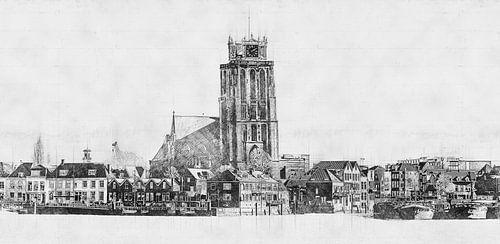 Architectonische Schets Dordrecht