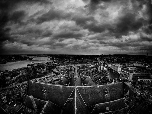 Dark clouds over Nijmegen