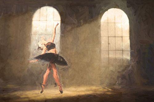 Geschilderd Urbex Ballet