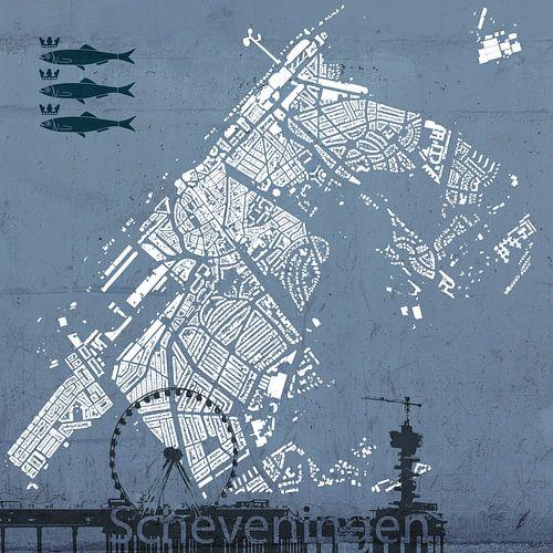 De gebouwen van Scheveningen