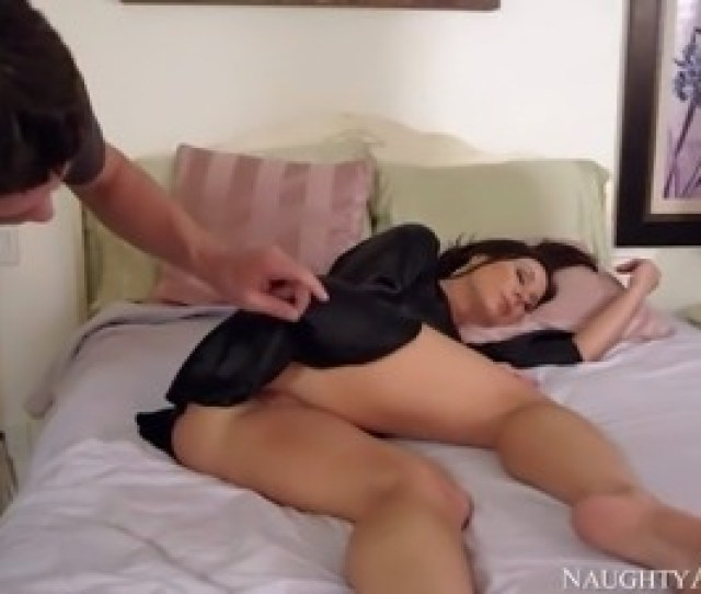 He Finds His Buddys Mom Kendra Lust Sleeping In The Bedroom Lovely Pantyless