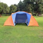Camping Tent Tourist Waterproof Hiking Picnic 4 Person Double Layer Outdoor Big