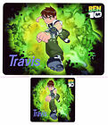 BEN 10 PERSONALISED PLACEMAT & COASTER SET