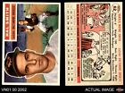 1956 Topps #62 Hal W. Smith Orioles EX