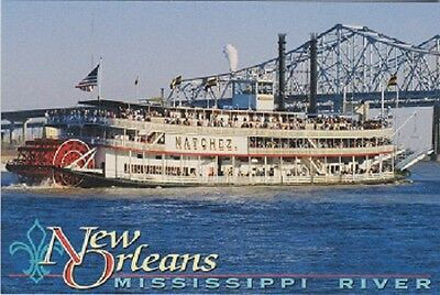 Image result for new orleans postcards river