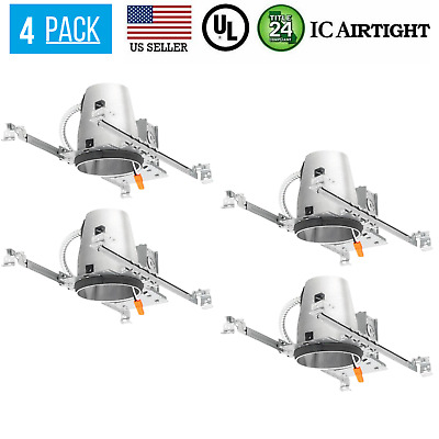 Commercial Electric Recessed Lighting Housing 6 Pack  6 pack