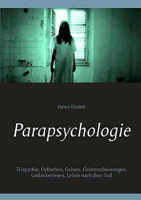 NEW Parapsychologie by Heinz Duthel Paperback Book (German) Free Shipping