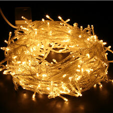100/200/300/480/1000 LED String Fairy Lights Christmas Xmas Party Indoor/Outdoor