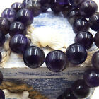Natural Gemstone Round Spacer Loose Beads Wholesale 4 6 8 10 12mm Amethyst