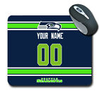 NFL Seattle Seahawks Personalized Name/Number Mouse Pad 153225