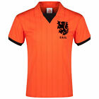 Mens Holland Football Team 1983 Shirt Jersey Top Tee Classic T Shirt Orange