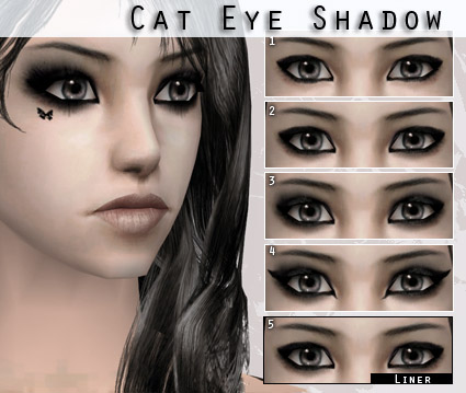 Mod The Sims - Cat Eye Shadow