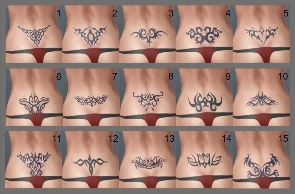 back tattoos from here or with these lower back tattoos the glove version.