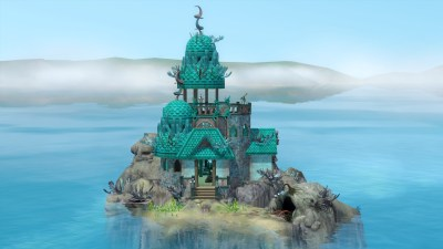 Mod The Sims - Depths rising - The Siren's shelter