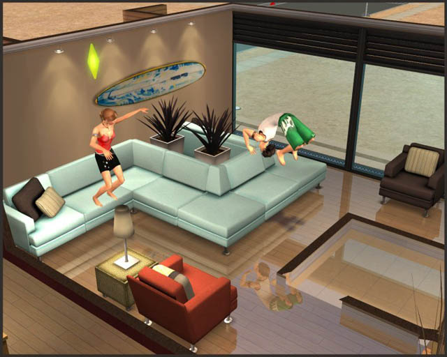 Sectional Couch Sims 4