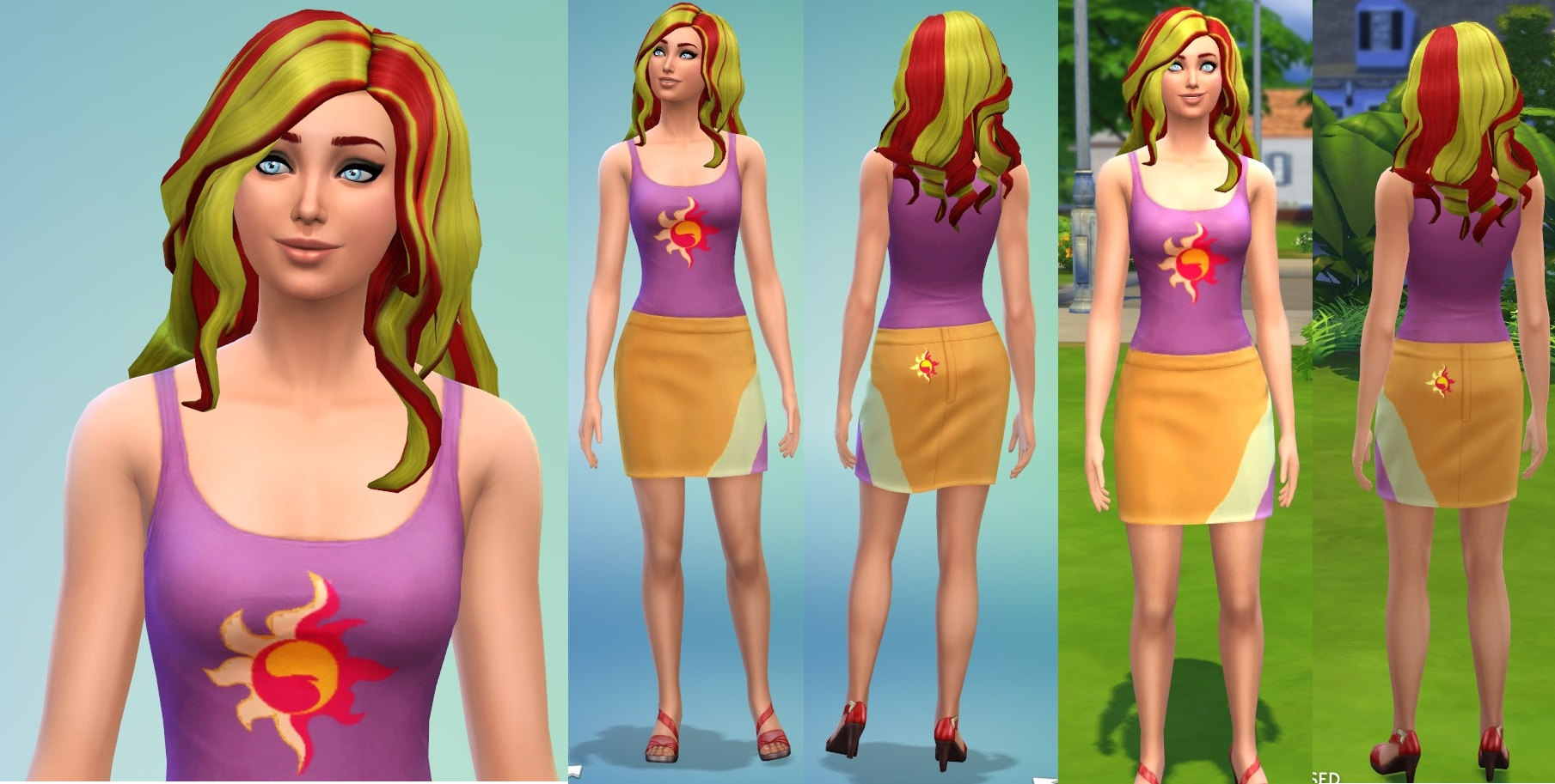 Mod The Sims Derpy Sunset Shimmer Trixie Zecora MLP